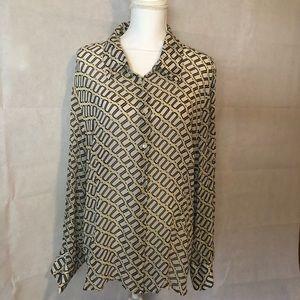 Silk Lane Bryant Plus Sized shirt